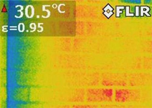 赤外線サーモグラフィティーによる外壁診断!